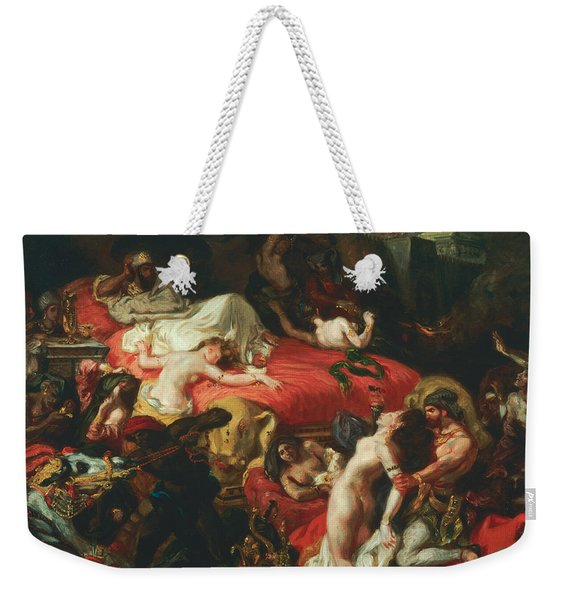 The Death Of Sardanapalus Weekender Tote Bag