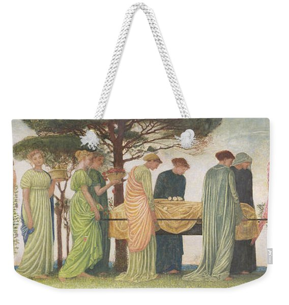 The Death Of The Year Weekender Tote Bag