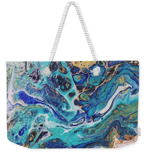 The Deep Blue Sea Weekender Tote Bag
