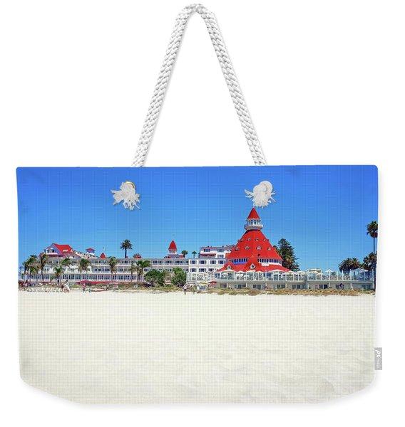 The Del Coronado Hotel San Diego California Weekender Tote Bag