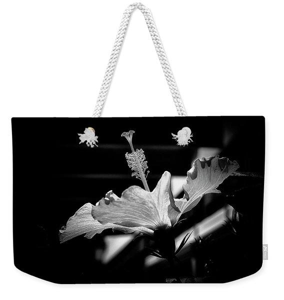The Delicate Hibiscus Flower Weekender Tote Bag