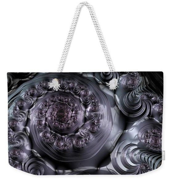 The Depth Of A Spiral Eye Weekender Tote Bag