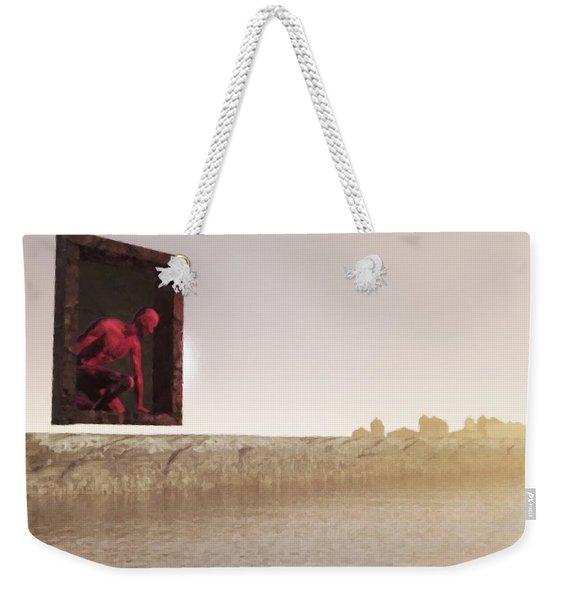 The Destroyer Cometh Weekender Tote Bag