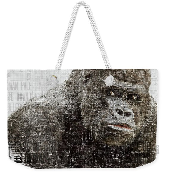 The Dignity Of A Gorilla Weekender Tote Bag