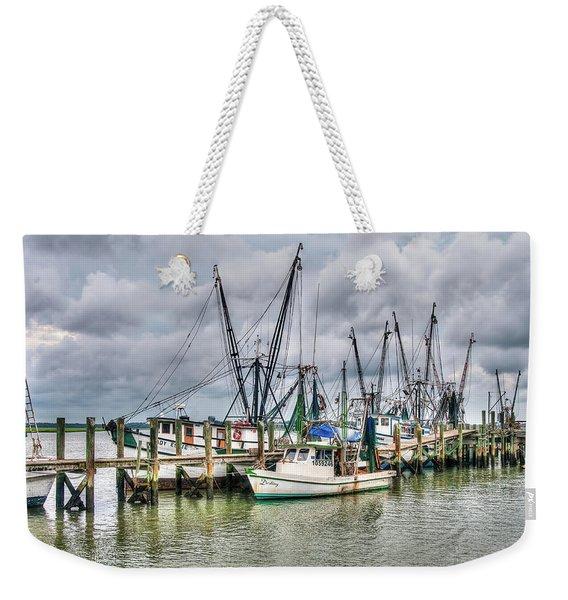The Docks Weekender Tote Bag