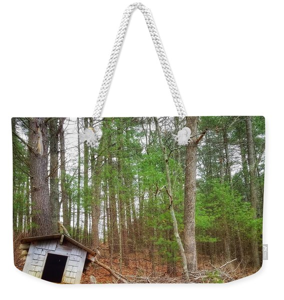 The Doghouse  Weekender Tote Bag