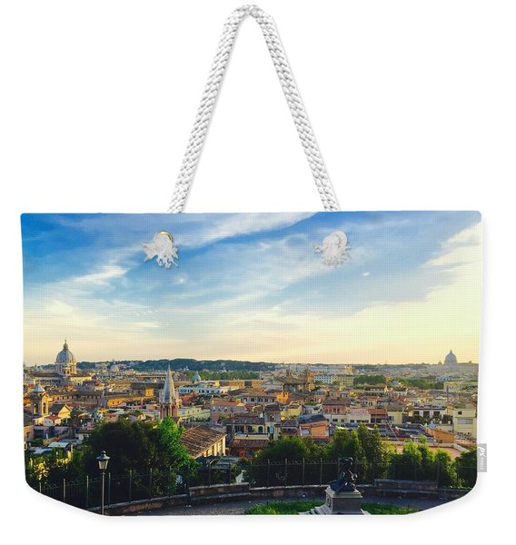 The Domes Of Rome Weekender Tote Bag
