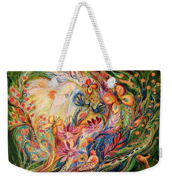 The Domination Of Green Weekender Tote Bag