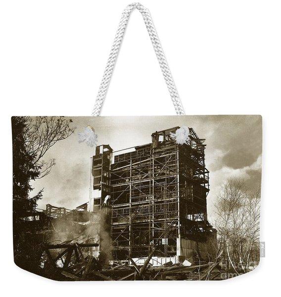 The Dorrance Breaker Wilkes Barre Pa 1983 Weekender Tote Bag