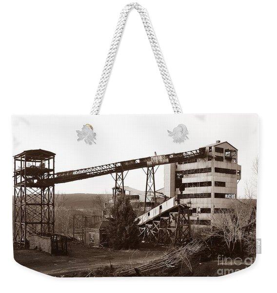 The Dorrance Coal Breaker Wilkes Barre Pennsylvania 1983 Weekender Tote Bag