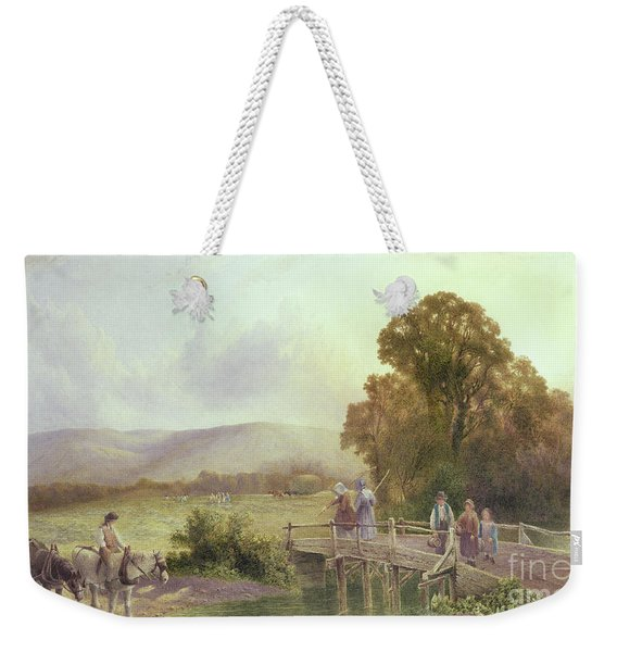 The Downs At Midhurst Weekender Tote Bag