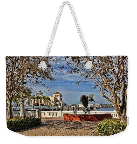 The Downtown Bradenton Waterfront Weekender Tote Bag