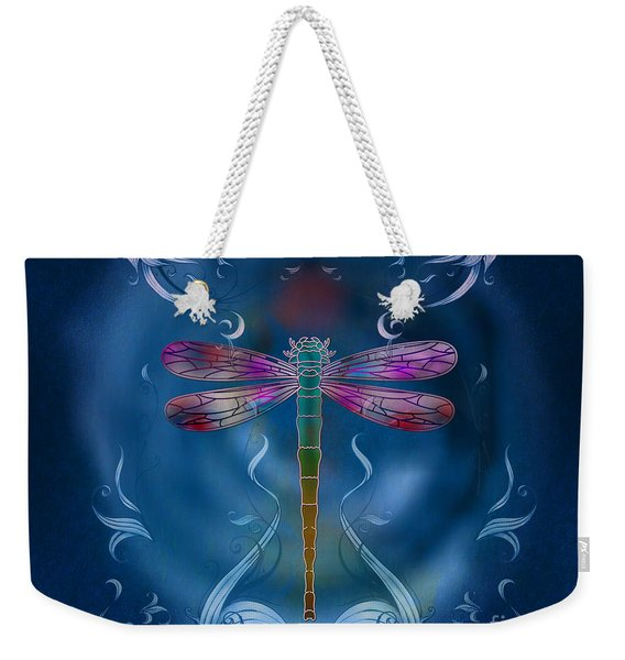 The Dragonfly Effect Weekender Tote Bag