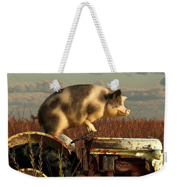 The Dream Of A Pig Weekender Tote Bag
