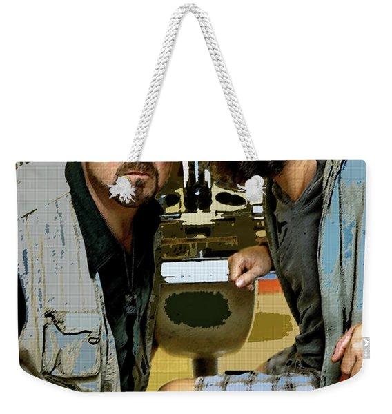 The Dude Abides, The Big Lebowski Weekender Tote Bag