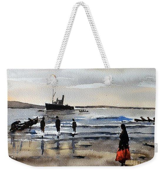 The Dun Aengus Off Aran, Galway Weekender Tote Bag