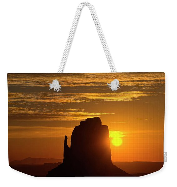 The Earth Awakes Weekender Tote Bag