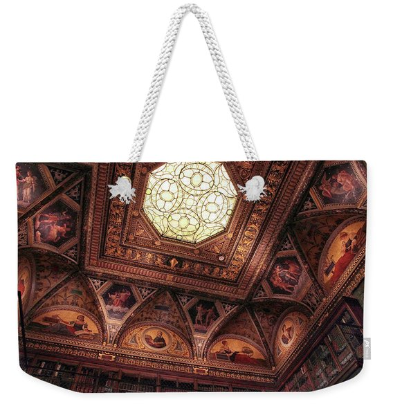 The East Room Ceiling Weekender Tote Bag