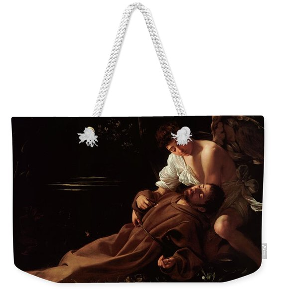 The Ecstacy Of Saint Francis Of Assisi Weekender Tote Bag