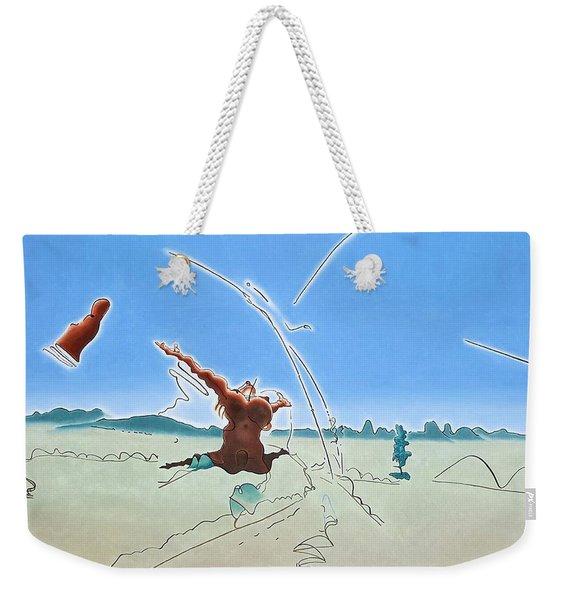 The Ecstasy Weekender Tote Bag