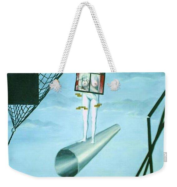 The Edge Weekender Tote Bag