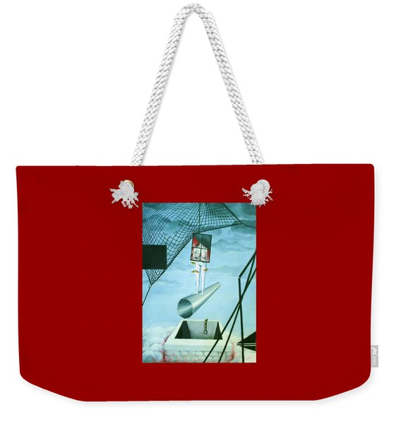 The Edge Weekender Tote Bag
