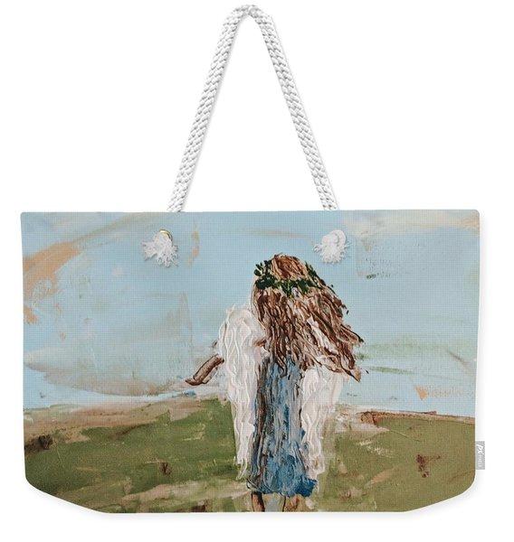 The Edge Of The Field Weekender Tote Bag