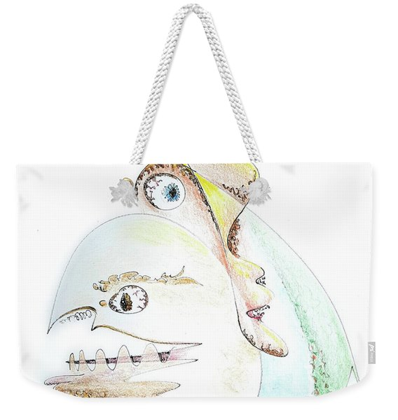 The Egg And I Weekender Tote Bag