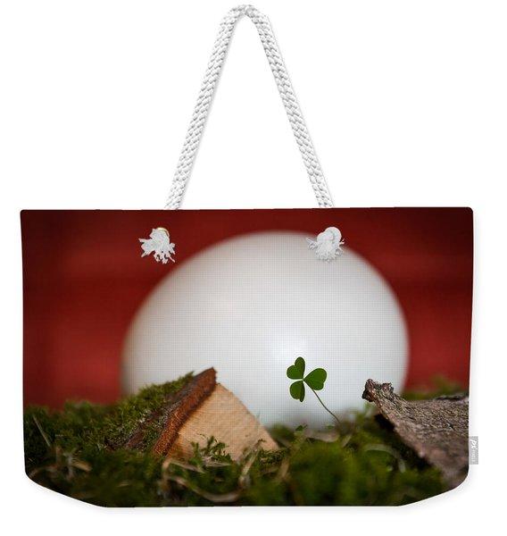 the egg - Happy Easter Weekender Tote Bag