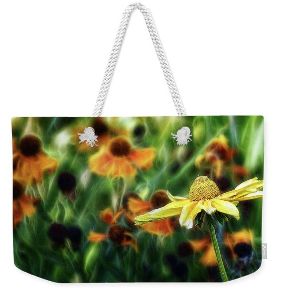 The Electric Garden Weekender Tote Bag