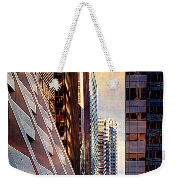 The Elevated Acre Weekender Tote Bag