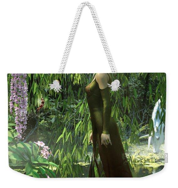 The Elven Realm Weekender Tote Bag