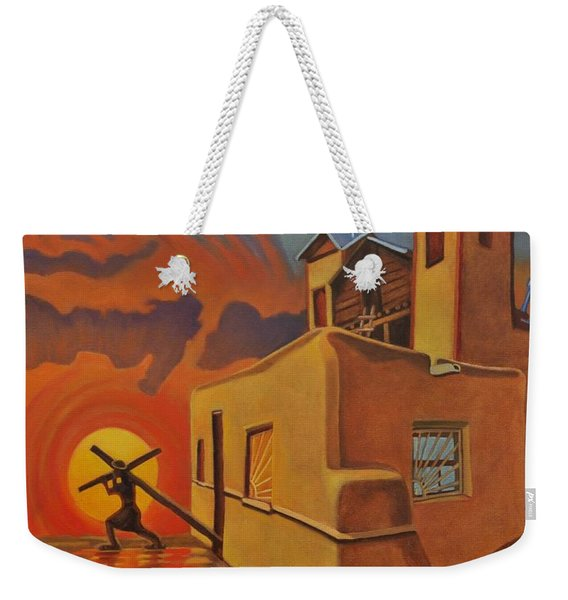 The Emancipation Of Christ Weekender Tote Bag