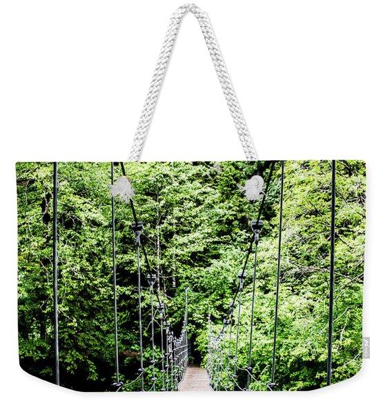The Emerald Crossing Weekender Tote Bag