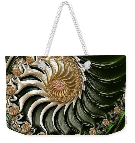 The Emerald Queen's Nautilus Weekender Tote Bag