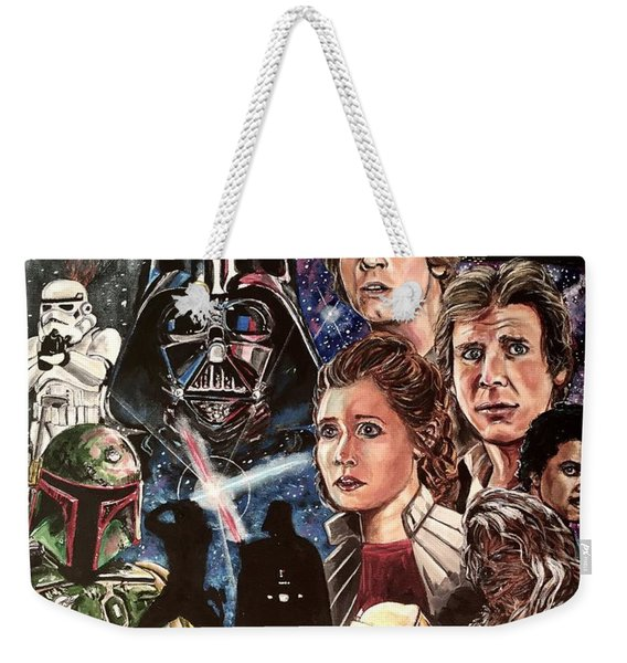 The Empire Strikes Back Weekender Tote Bag
