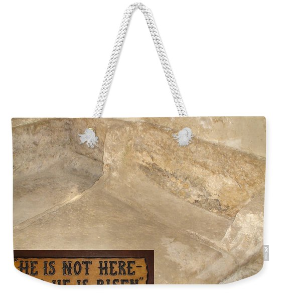 The Empty Tomb Weekender Tote Bag