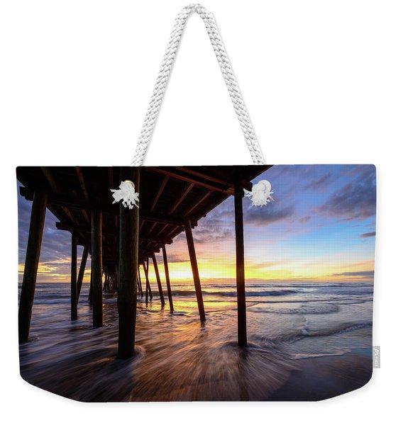 The Enchanted Pier Weekender Tote Bag