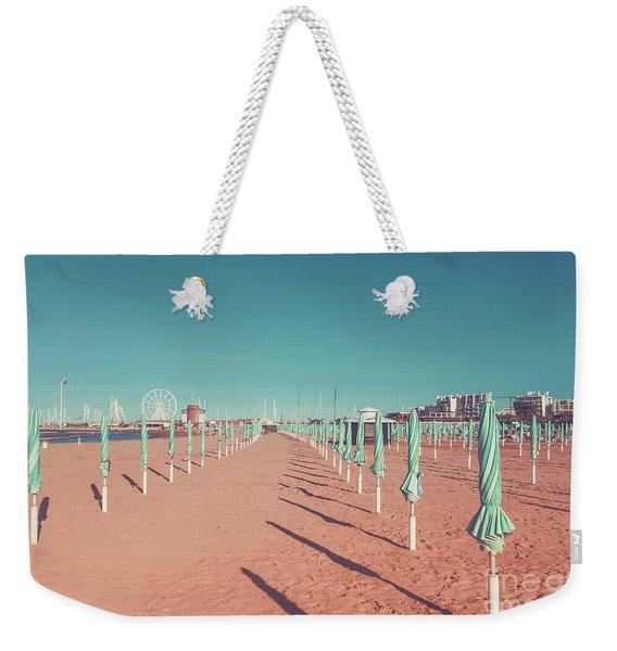 The End Of Summer Season  Weekender Tote Bag