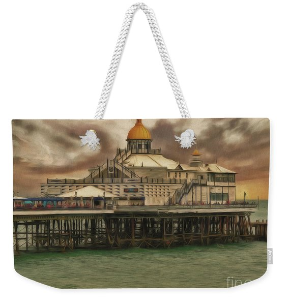 The End Of The Pier Show Weekender Tote Bag