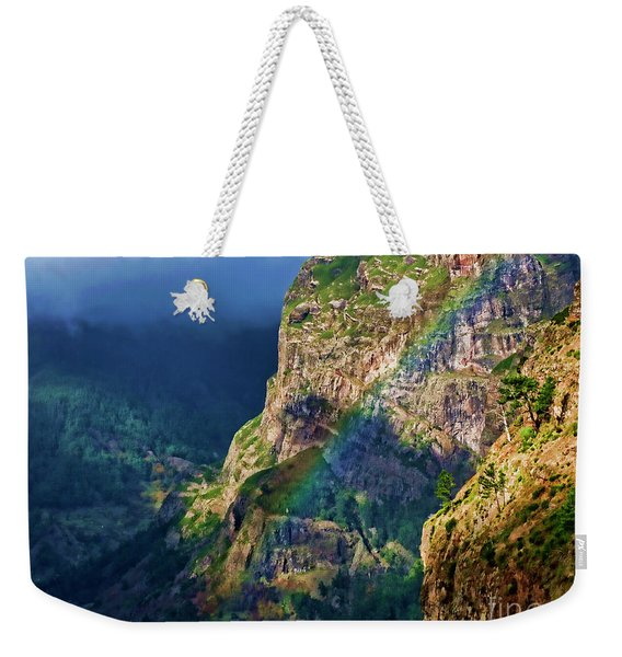 The End Of The Rainbow Weekender Tote Bag