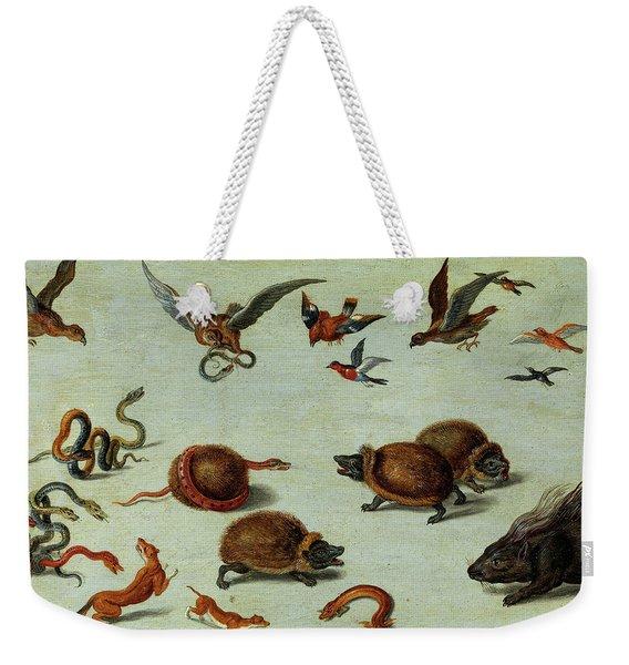The Enemies Of Snakes Weekender Tote Bag