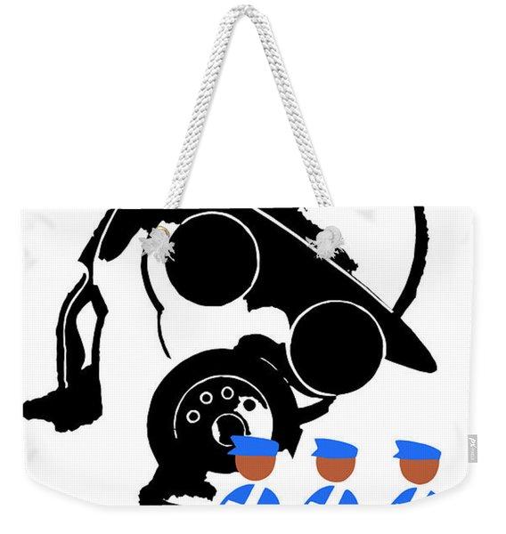 The Enemy Is Syphilis Weekender Tote Bag