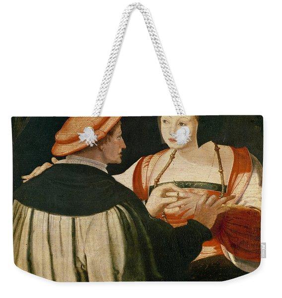 The Engagement Weekender Tote Bag