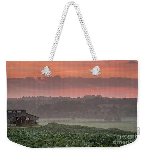 The English Landscape 2 Weekender Tote Bag