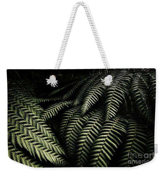 The Exotic Dark Jungle Weekender Tote Bag
