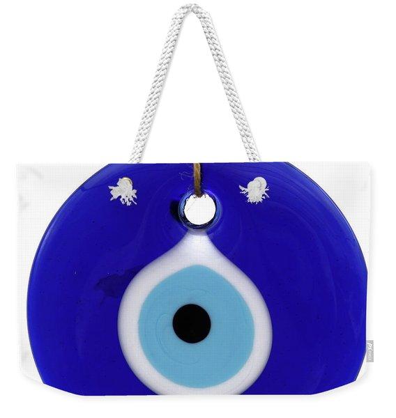 The Eye Against Evil Eye Weekender Tote Bag