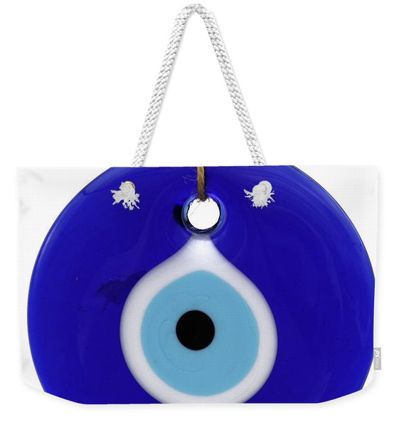 The Eye Against Evil Eye Weekender Tote Bag