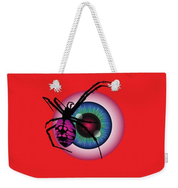The Eye Of Fear Weekender Tote Bag