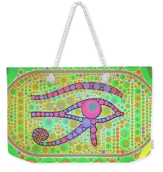 The Eye Of Ra By Mb Weekender Tote Bag